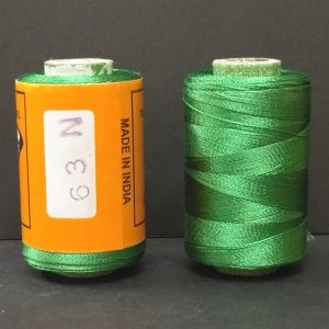 Silk Thread - Emerald Green