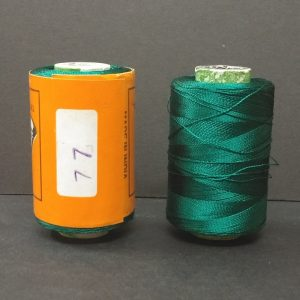 Silk Thread -  	Dark Green