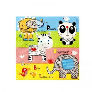 Children World Decoupage Napkin