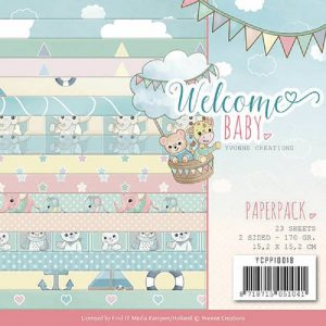 Yvonne Creations Welcome Baby Paper Pack