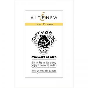 Altenew Ice Cream Stamp Set