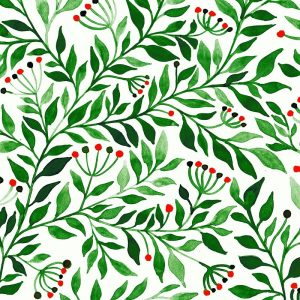 The Green Leafs Decoupage Napkin