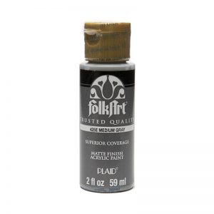 FolkArt Acrylic Paint - Medium Gray