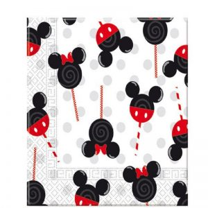 Disney Mickey Minnie Mouse Decoupage Napkin