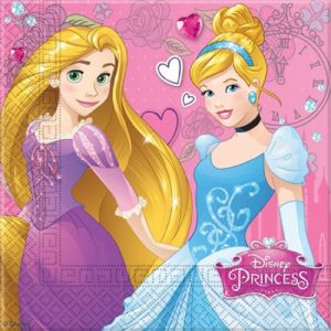 Two Princess Decoupage Napkin