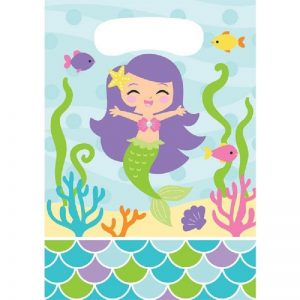 Mermaid Friends Decoupage Napkin