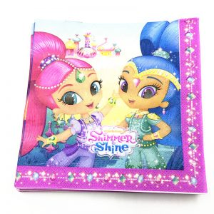 Shimmer And Shine Decoupage Napkin