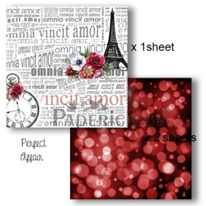 Papericious Decoupage Papers -  Perfect Affair