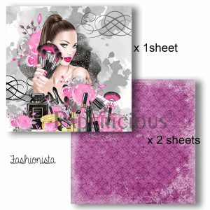 Papericious Decoupage Papers - Fashionista