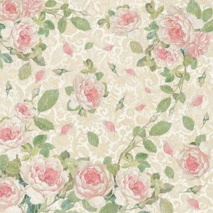 Stamperia Rice Paper - Rose and Laces