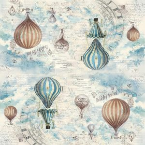 Stamperia Rice Paper -Balloon
