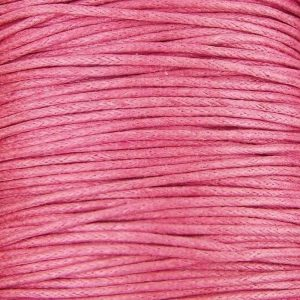 Baby Pink Waxed Cotton Cord