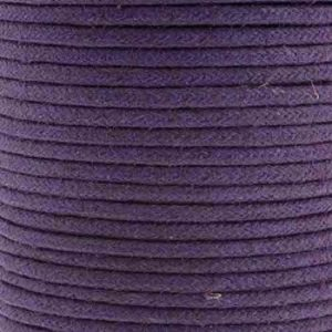 Purple Waxed Cotton Cord