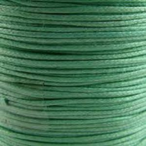 Green Waxed Cotton Cord