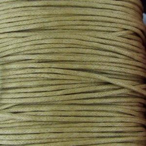 Light Green Waxed Cotton Cord