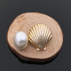 Shell and Pearl Embellishment