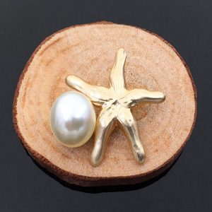 Starfish and Pearl Embellishment