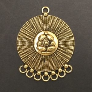Gold Pendant - Cirlcle