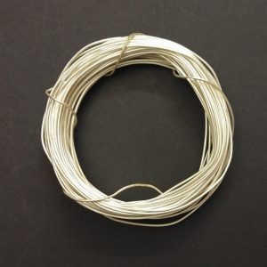 18 Gauge Silver Metal Wire
