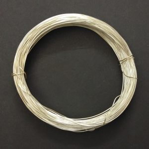 20 Gauge Silver Metal Wire