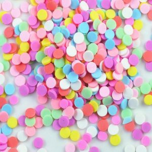Polymer Clay Sprinkles - Dots