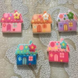 Cute House Resin Embellishment