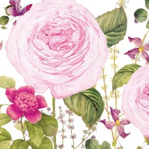 Princess Rose Decoupage Napkin