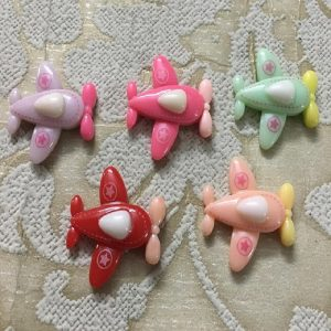 Airplane Resin Embellishment