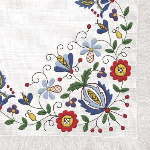 Flower Design Decoupage Napkin