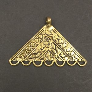 Gold Triangle Pendant
