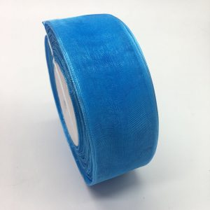 Blue Organza Ribbon