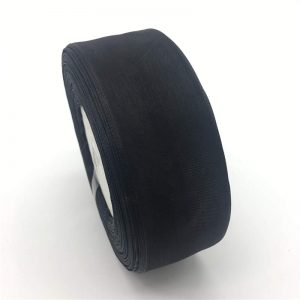 Black Organza Ribbon