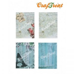 Craftreat Decoupage Paper  - Alphabet
