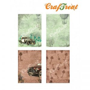 Craftreat Decoupage Paper  - Car