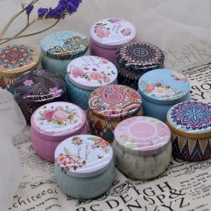 Round Mini Tin Boxes