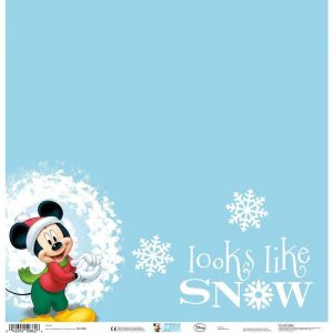Disney Theme Papers - Looks Like Snow