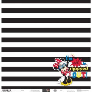 Disney Theme Papers -  Minnie Shopped Out
