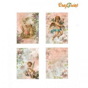 Craftreat Decoupage Paper  - Angle Set 2