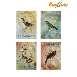 CrafTreat Decoupage Paper -  Birds