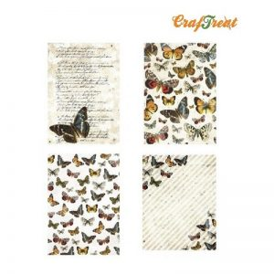 CrafTreat Decoupage Paper -  Butterfly