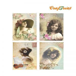 Craftreat Decoupage Paper  - Paris With Love