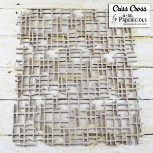 Criss Cros Papericious Pattern Chippis