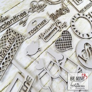 Be Mine Papericious Theme Chippis