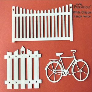 Fancy Fence White Chippis