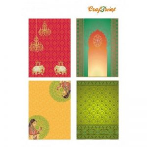 Craftreat Decoupage Paper - Ethnic India 2