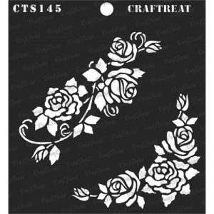 CrafTreat Stencil - Blushing Roses
