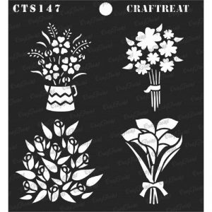 CrafTreat Stencil - Mini Bouquets