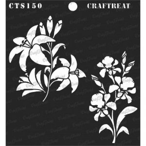 CrafTreat Stencil - Lily and Iris