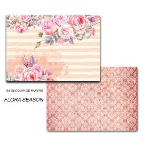 Papericious Decoupage Papers - Flora Season