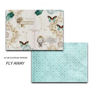 Papericious Decoupage Papers - Fly Away